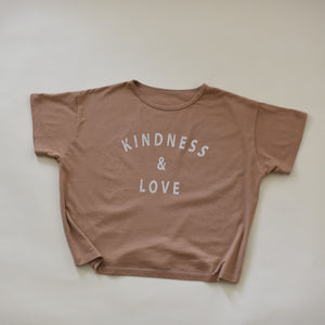 Kindness & Love - Women's Boxy Tee (Clay)