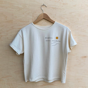 Kindness Moves Mountains - Women's Boxy Tee