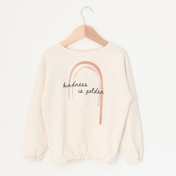 Kindness is Golden - Kid's Slouchy Sweatshirt