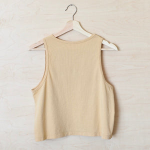 See the Good - Women's Cropped Tank (Honey)