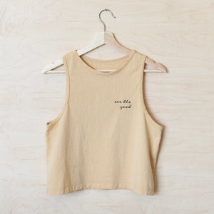 Kinnd Project cropped tank top