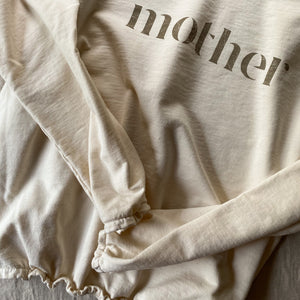 Mother - Slouchy Pullover (Natural)