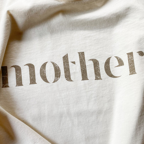 Mother - Boxy Tee (Natural)