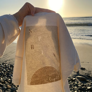Spread Light - Boxy Tee (Natural)