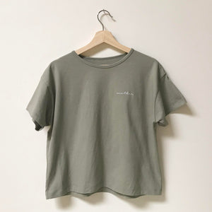 Mother - Women's Boxy Tee (Sage)