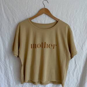 Mother - Drapey Boxy Tee (Toasted Wheat)