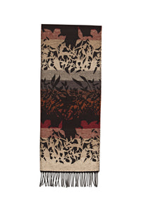 Scarf with Sylvan Motif