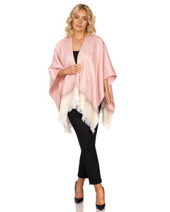 Powder Pink Shawl in Luxurious Mohair Blend