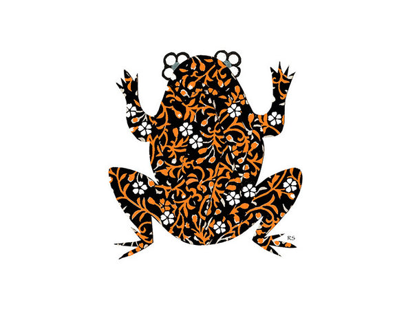 Fire Bellied Toad Notecard