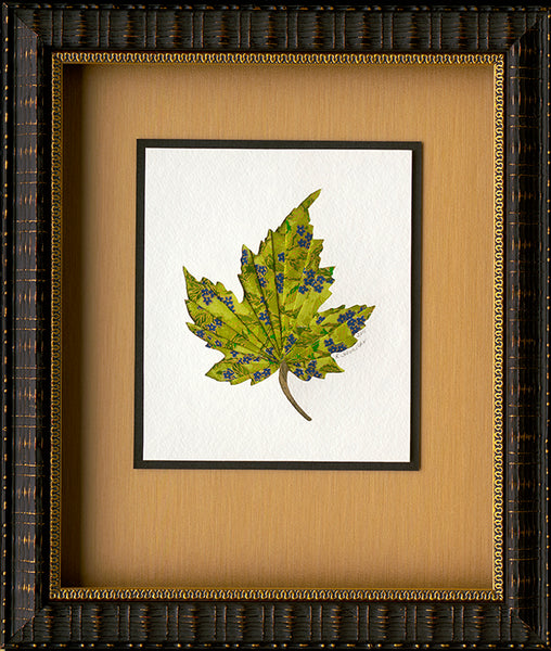 Original Paper Folded Spring Flowering Maple Leaf