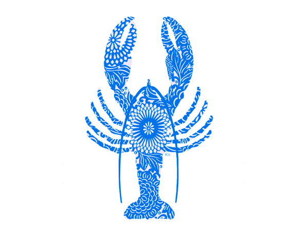 Rare Blue Lobster Notecard