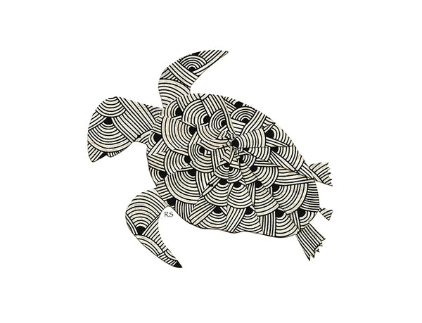 Sea Turtle Notecard