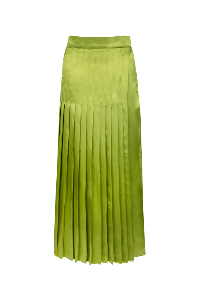 The Alexandria Skirt - Moss