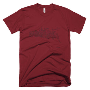 Tweezer 2/28/03 Unisex / Men's Short-Sleeve USA T-Shirt