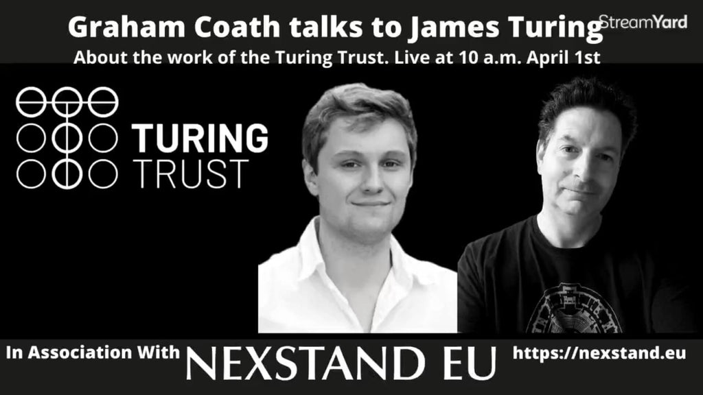 Supporting The Turing Trust