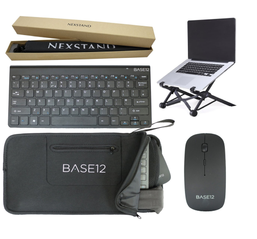 Nexstand K2 Bundle with Laptop Stand, Keyboard & Mouse