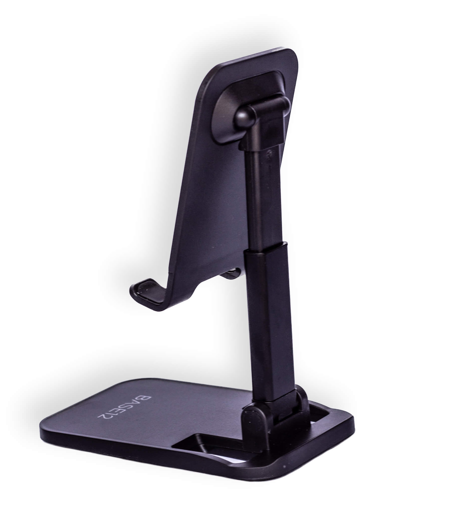 Portable Phone and Tablet Stand - Ergonomic, Height Adjustable and Foldable