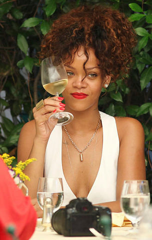 virgo rihanna wine glass