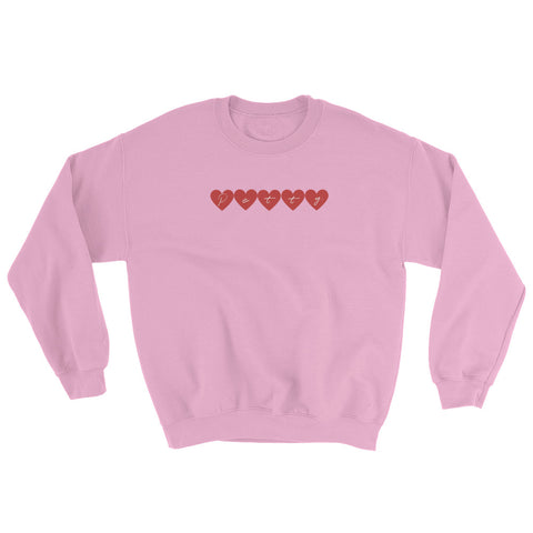 Petty Hearts Sweatshirt
