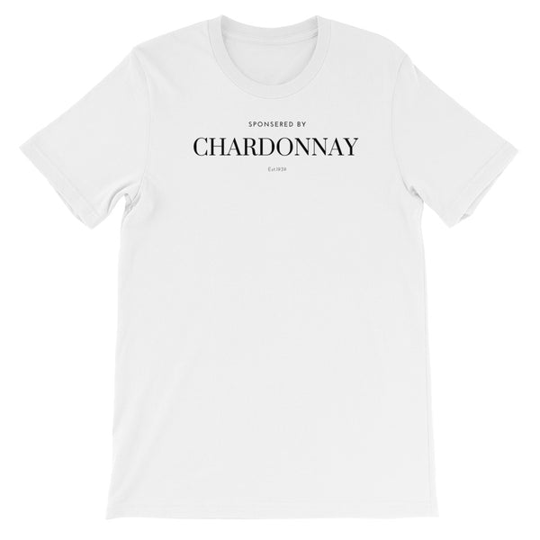 Sponsored by Charddonay Unisex tee