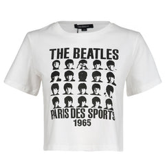 Beatles 1965 crop top