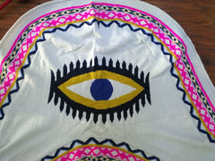 Third Eye Open Front Poncho