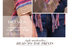Boho Knitwear with Tassles