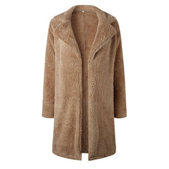 Wool blend super soft and warm coat