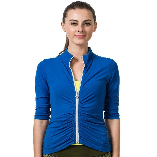 Women Fitness Yoga Sports Jacket - Van & Stuyvesant