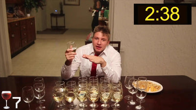DRINKING 24 GLASSES OF WINE IN 30 MINUTES!