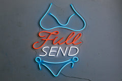 Full Send Neon Sign