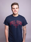 FULL SEND University T-Shirt Navy Blue