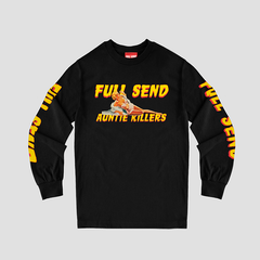 BLACK FULLSEND AUNTIE KILLERS LONG SLEEVE