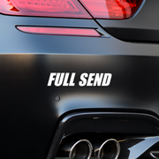 Full Send Bumper Stickers