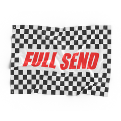 FULLSEND 500 Checkered Flag