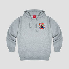 GREY STEVEWILLDOIT CARTOON HOODIE