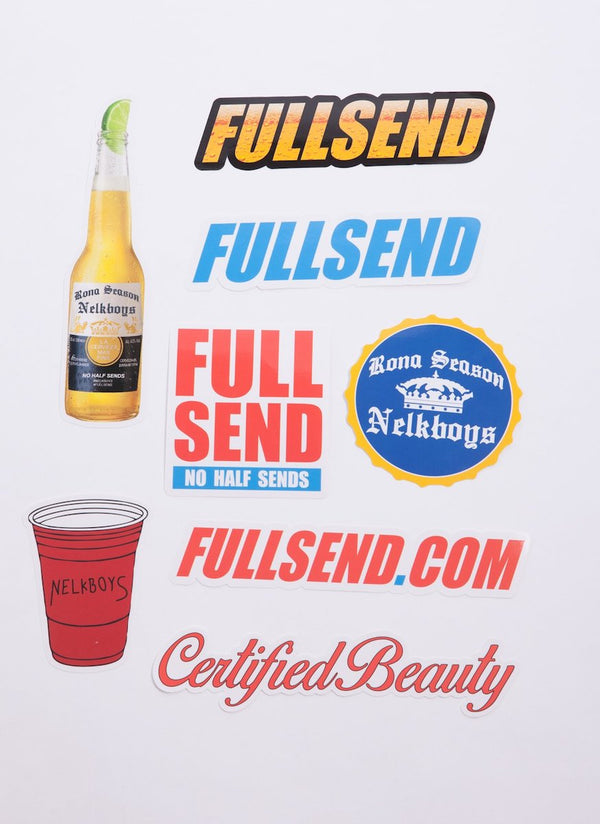 Full Send Sticker Pack
