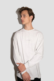 GREY FULLSEND STAPLE LONG SLEEVE TEE