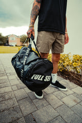 FULL SEND BLACK DUFFLE BAG