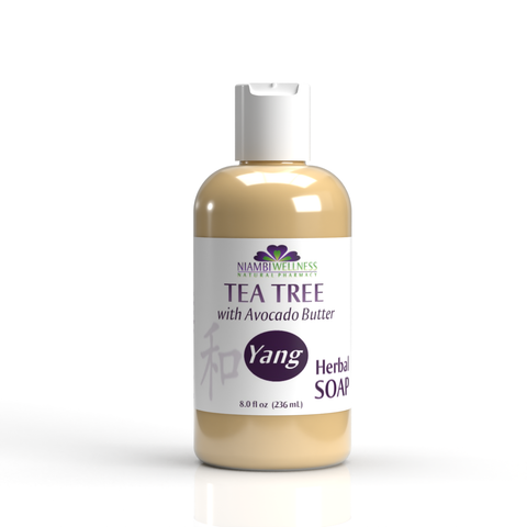 Yang Tea Tree Natural Liquid Soap 8oz