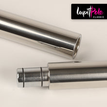 Lupit Pole Classic - Stainless Steel 42mm [Spinning & Static]