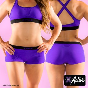 Seamless Shorts Purple