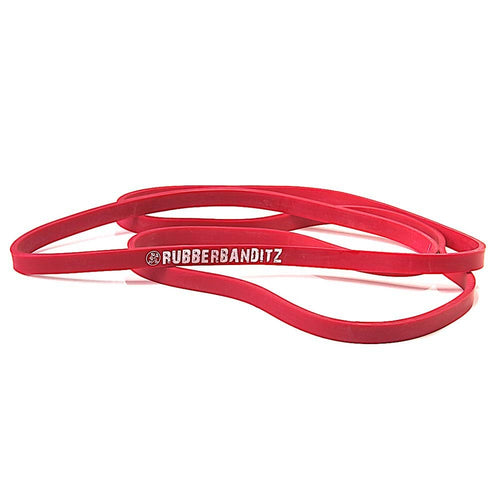 RubberBanditz © Neon Red Medium Resistance Band