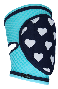 Grip Knee Pads for Pole Dancing - Azure Dream