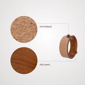 Cork Yoga Wheel