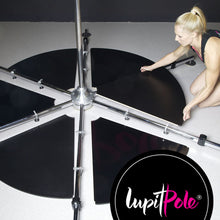 LUPIT POLE STAGE, stainless steel, 45mm, Short Legs