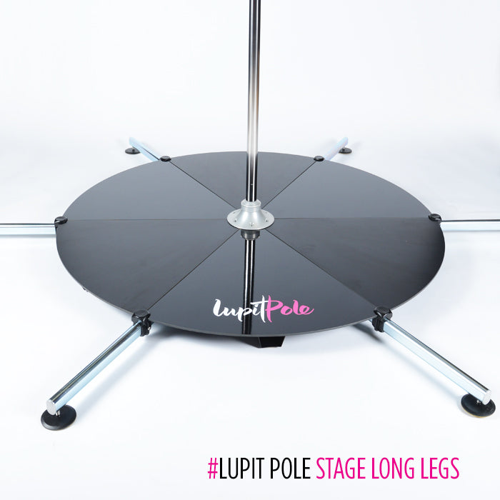 LUPIT POLE STAGE, stainless steel, 45mm, Long Legs