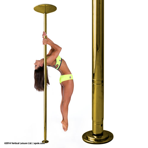 X-POLE XPERT Set - Brass - [Spinning & Static]
