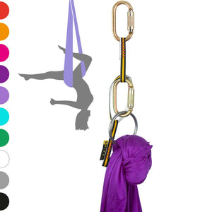 Aerial Yoga Hammock Set - 1 Rigging Point