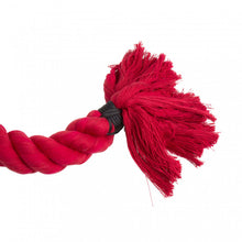 3 Ply Red Free Rope (Corde Lisse) With Steel Eye